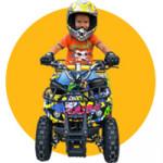 Детские и подростковые квадроциклы