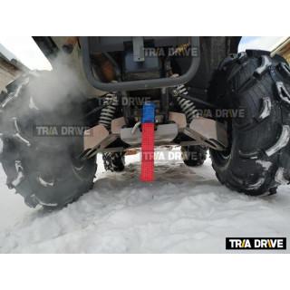 Задние гнутые рычаги для квадроциклов Русская механика РМ 800 c защитой