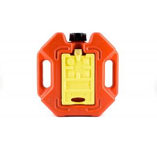 Плоская канистра Экстрим СТОП 4 литра-комбинированная
