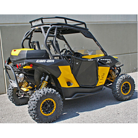 Двери BLINGSTAR для BRP (Can-Am) Commander Maverick (Черные) UTV-4006TXT