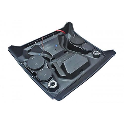 Крыша для квадроцикла Polaris RZR 800 900 пластиковая с музыкой