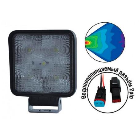 Светодиодные фары AVS Light FL-1210 (15W)