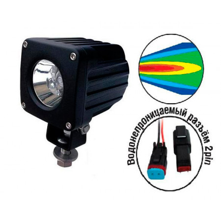 Светодиодная фара AVS Light FL-1237A (10W)