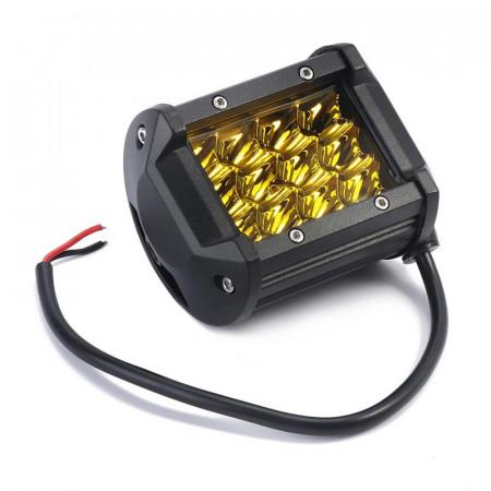 Светодиодная балка CP-3R-GDN-36 Spot Yellow (дальний свет SMD 3030, желтое свечение)