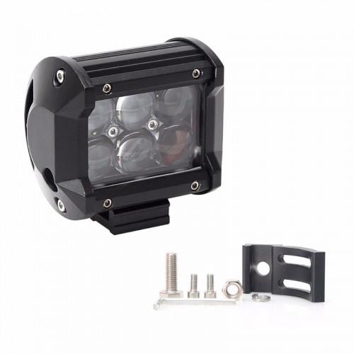 Светодиодная балка CP-4DS-18 Spot (два ряда/линзы/дальний свет)