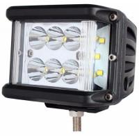 Светодиодная фара Ultra light CP-60UL Spot C12 (дальний свет с боковой засветкой CREE)