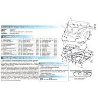 Вынос радиатора на квадроцикл CF MOTO X5 H.O (2015-)