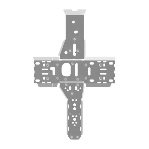 Защита днища и порогов для квадроцикла Polaris Sportsman 500 H.O./800 (2011-2014)