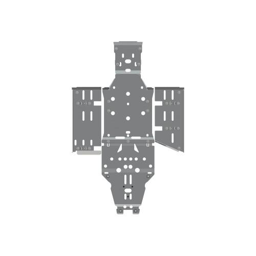 Защита днища для квадроцикла Polaris Ranger 570 (Mid Size) (2014-2019)