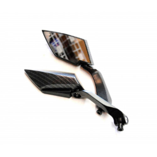 Зеркала заднего вида карбон 8mm 10mm правая левая резьба TD-2045-1 SF-036