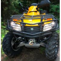 Бампер (кенгурин) передний для квадроцикла CF MOTO CF625 X6 2011- (ALFeco)