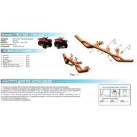 Бампер задний (кенгурин) для квадроцикла Honda TRX 420/500 IRS 2014-