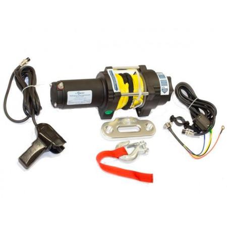 Лебедка электрическая СТОКРАТ для ATV QX 3.0 S 12V 1.5 л.с.