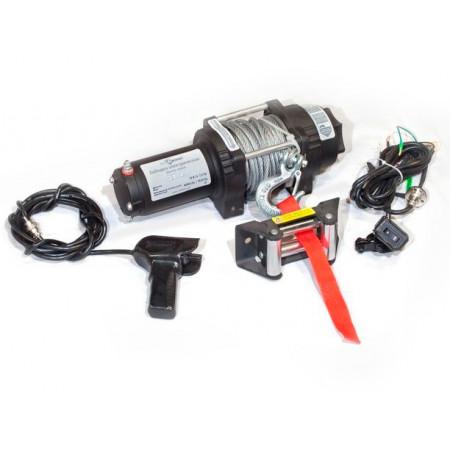 Лебедка электрическая СТОКРАТ для ATV QX 4.0 12V 1.6 л.с.
