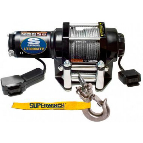 Лебедка для квадроцикла SuperWinch LT3000 электрическая