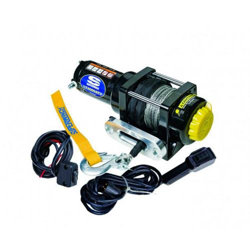 Лебедка для квадроцикла SuperWinch LT4000 электрическая с синтетическим тросом