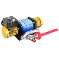 Лебедка для квадроцикла T-Max ATW PRO 4500 электрическая с синтетическим тросом