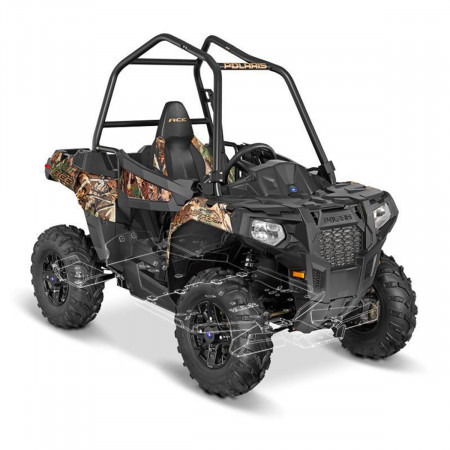 Чехол для квадроцикла Polaris ACE 325/570/900