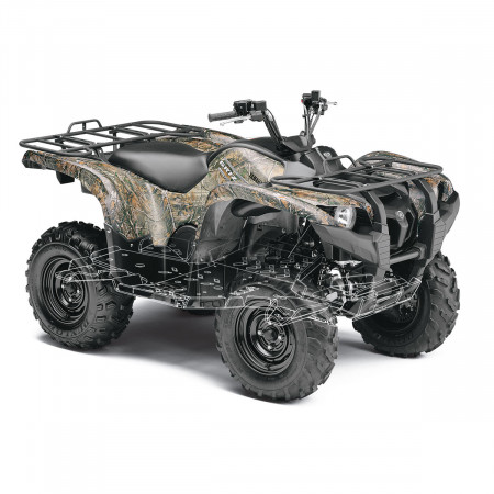 Чехол для квадроцикла  YAMAHA Grizzly 700 (2016+)