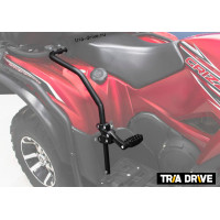 Защита задних крыльев Yamaha Grizzly/Kodiak 2009-2013 + подножки для пассажира