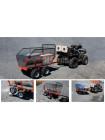 Прицеп одноосный четырехколесный (ALFeco) стальной ATV400