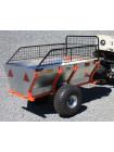 Прицеп одноосный двухколесный (ALFeco) стальной ATV350
