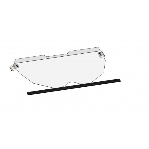 Лобовое (ветровое) стекло (половинка) для BRP Can-Am Maverick X3