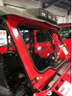 Лобовое (ветровое) стекло с дворником и омывателем для Honda Pioneer 1000/1000-5