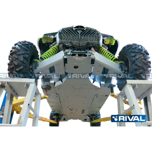 Защита днища для квадроцикла BRP (Can-Am) Maverick 1000 X DS MAX / Turbo