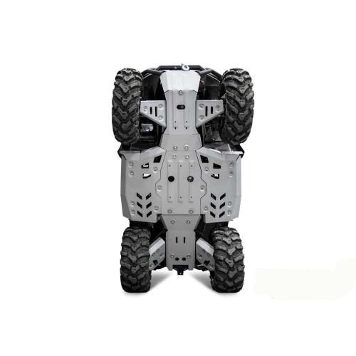 Защита днища для квадроцикла CF Moto Cforce 625 (2020-)  алюминиевая