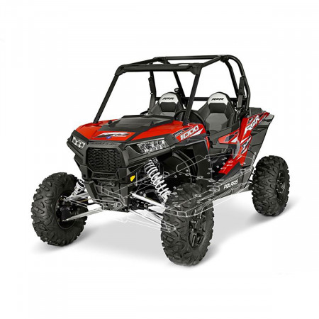 Защита днища для квадроцикла Polaris RZR 1000 XP пластиковая