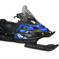 Бампер передний для снегохода BRP Ski-doo Tundra WT с ложементом ружья c двух сторон