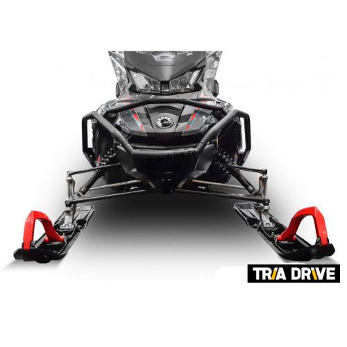 Передний бампер с боковой защитой для снегохода BRP LYNX 49 Ranger / SKI-DOO Expedition Sport, Grand Touring  (2020-)