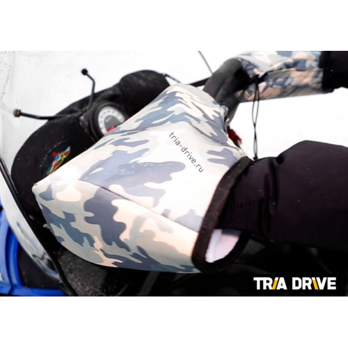 Муфты снегоходные на руль универсальные c кулисой