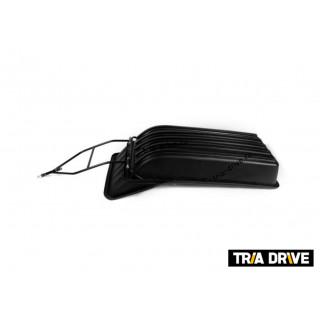 Сани-волокуши PanZerBox 1450 для мотобуксировщика c обвязкой, отбойником, демпфером и полозьями