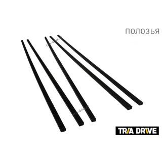Сани-волокуши PanZerBox 1150 для мотобуксировщика с обвязкой без демпфера (с крюками под карабин)