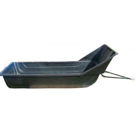 Сани волокуши №7 1900 с отбойником, обвязкой, демпфером и накладками на дно