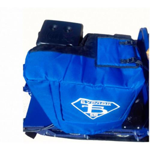 Модернизированный чехол на двигатель буксировщика с огнеупорной вставкой 9-15 л.с.
