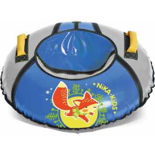 Тюбинг ватрушка 85 см принт «Зайка-лисенок»