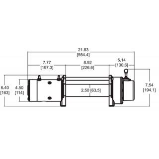 Лебедка электрическая WARN XDC 9.5 12V