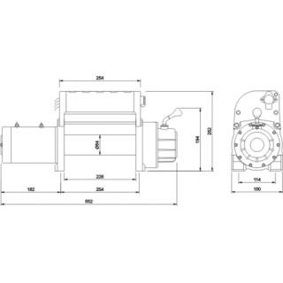 Лебедка автомобильная электрическая Master Winch 9500i