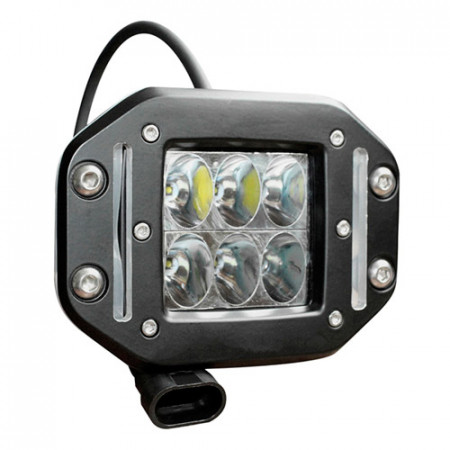 Светодиодная фара водительского света для внедорожника Aurora (ALO-E-2-D1J) врезная