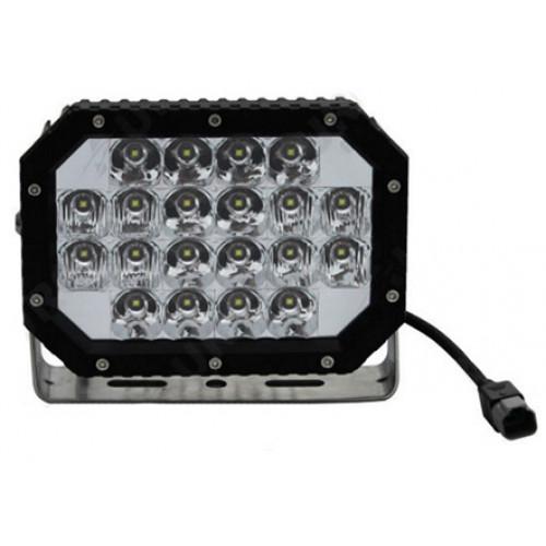 Светодиодная фара (прожектор) комбинированного света для внедорожника Aurora (ALO-L-6-P7E7K)