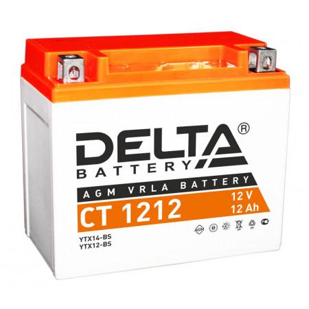 Аккумулятор Delta CT 1212 12В/12Ач