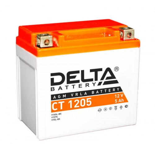 Аккумулятор Delta CT 1205 12В/5Ач