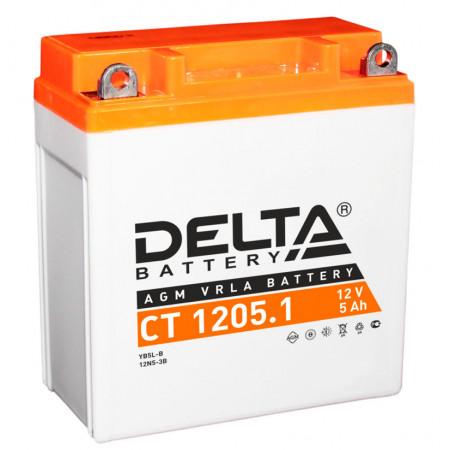 Аккумулятор Delta CT 1205.1 12В/5Ач