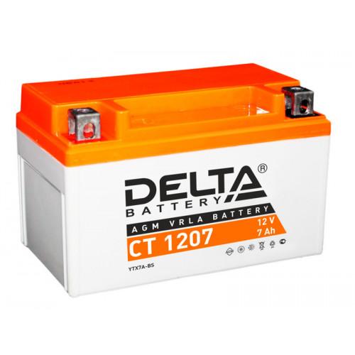 Аккумулятор Delta CT 1207 12В/7Ач