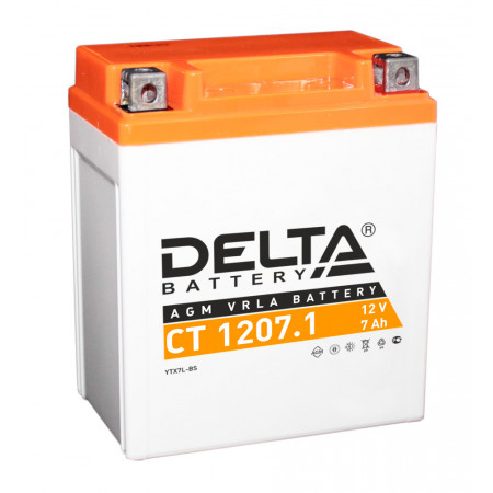 Аккумулятор Delta CT 1207.1 12В/7Ач