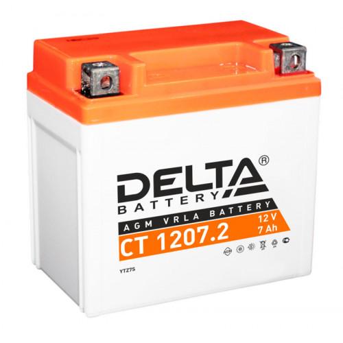 Аккумулятор Delta CT 1207.2 12В/7Ач