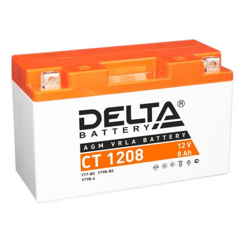 Аккумулятор Delta CT 1208 12В/8Ач